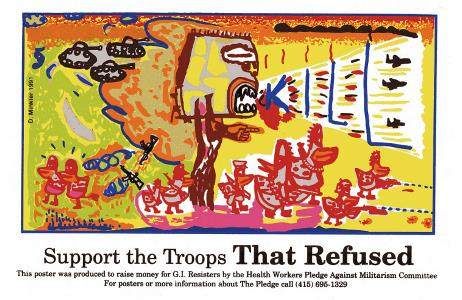 Support the Troops That Refused
